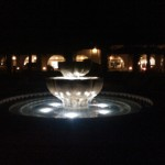 Libbey Fountain Lights